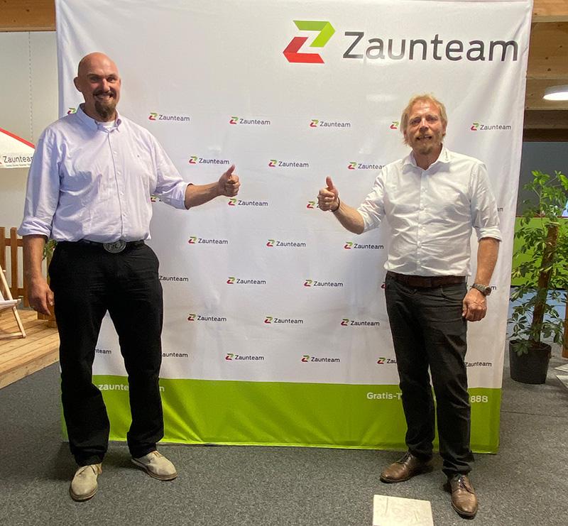 Vertragsunterzeichnung Zaunteam Kärnten-West-Osttirol