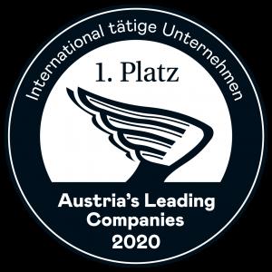 1. Platz - Autria's Leading Companies 2020