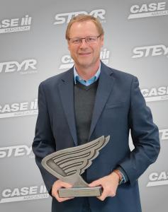 Christian Huber von CNH Industrial Österreich